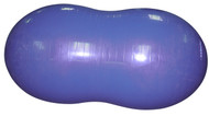 FitPAWS 60 cm blue peanut for training and rehabilitation for dogs.