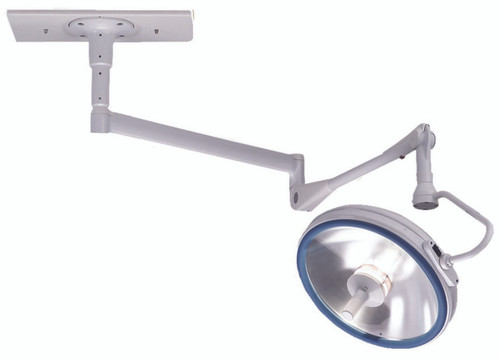 Single Ceiling Mount Halogen Surgical Dome