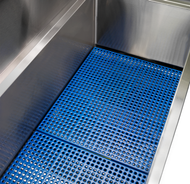PVC coated tub floor