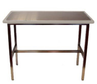 Blue-Line Flat Pack Exam Table, Taupe Gray
