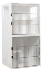 """Feline Comfort Suite, 30""""W, Full Grill Door, 2-unit with two windows"""