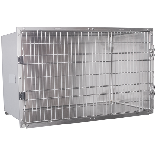 "48""W x 36""H Single door Stainless Steel Cage"