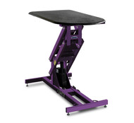 Classic Grooming Table, No Arm, Electric, Plum Perfect