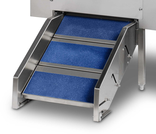 The Shor-Line STeprAMP system that lets your choose between steps and a ramp.