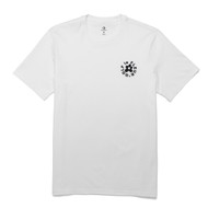 GOLF Le FLEUR ESSENTIAL EMBROIDERED TEE - WHITE
