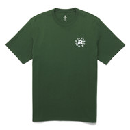 GOLF Le FLEUR ESSENTIAL EMBROIDERED TEE - GREEN
