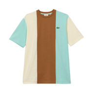 COLORBLOCK TEE - BROWN by GOLF le FLEUR* and LACOSTE