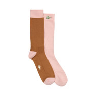 COLORBLOCK SOCKS - PINK by GOLF le FLEUR* and LACOSTE
