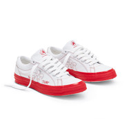 GOLF LE FLEUR* OX COLORBLOCK - WHITE/RACING RED