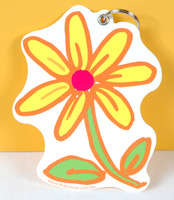 Daisy Bag Tag