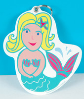 Mermaid Bag Tag