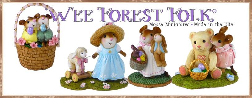 Wee Forest Folk Easter Banner