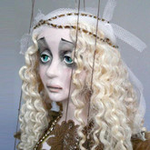 Handmade Marionette - The White Angel