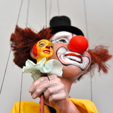 Handmade Marionette - The Clown