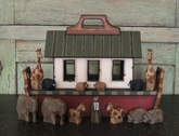 Wooden Noah's Ark - Children's Ark