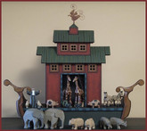 Wooden Noah's Ark #4