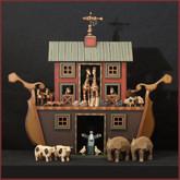 Wooden Noah's Ark #9