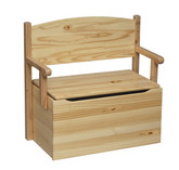 Little Colorado Bench Toy Box - Natural