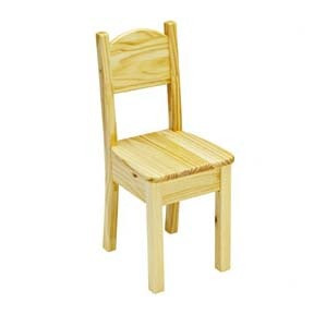 Little Colorado Open Back Chair Natural Finish