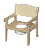 Little Colorado Potty Chair in Natural Finish