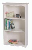 Little Colorado Traditional Bookcase - White