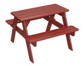 Little Colorado Child's Picnic Table - Red