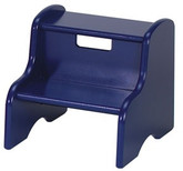 Little Colorado Kid's Step Stool - Dark Blue