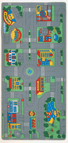 Learning Carpets City Play Carpet (LC104)