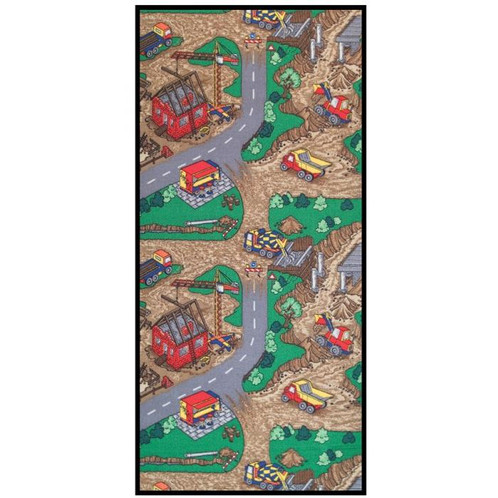 Learning Carpets Construction Zone Play Carpet (LC166)