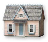Victorian Cottage Jr Unfinished Dollhouse Kit