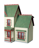 Colonial Jr Addition Unfinished Dollhouse Kit