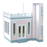 Jr Conservatory Addition Unfinished Dollhouse Kit
