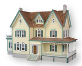 North Park Mansion Unfinished Dollhouse Kit