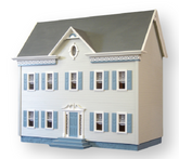 The Montclair Unfinished Dollhouse Kit