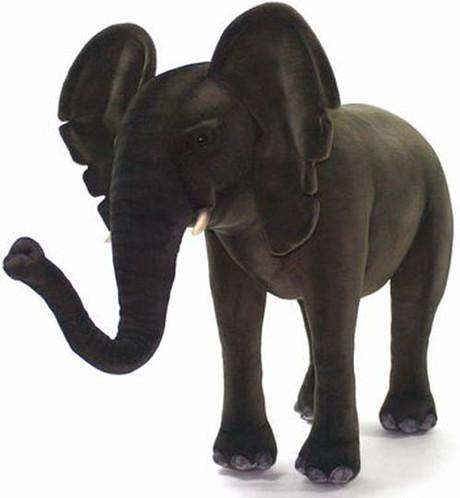 Hansa Elephant, Ride-On 47''L (3007)