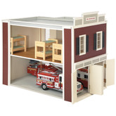 Real Good Toys Firehouse QuickBuild Dollhouse Kit (00080)