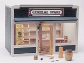 General Store Unfinished Dollhouse Kit