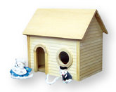 Mouse House Unfinished Dollhouse Kit