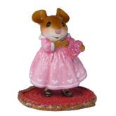 Wee Forest Folk Miniature - Little Sweetheart Girl (M-499a)