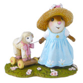 Wee Forest Folk Miniature - Mary's Little Lamb (M-445b)