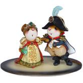 Wee Forest Folk Miniature - Napoleon & Josephine (M-529)