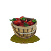 Wee Forest Folk Miniature - Apple Basket (A-30)