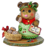 Wee Forest Folk Miniature - Just for You! with Cherries on Apron (BB-19)