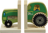 Maple Landmark Mighty Driver Bookends, Tractor (70205)