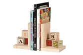 Maple Landmark Alphablock Bookends (70212)