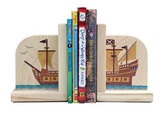 Maple Landmark Pirate Ship Bookends (70219)
