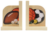 Maple Landmark Sports Bookends (70213)