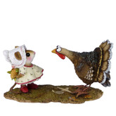 Wee Forest Folk Miniature - Cob Gobbler (M-558)