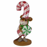 Wee Forest Folk Miniature - Candy Cane Chris (M544)