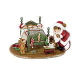 Wee Forest Folk Miniature - Surprised Santa! (M-514s)